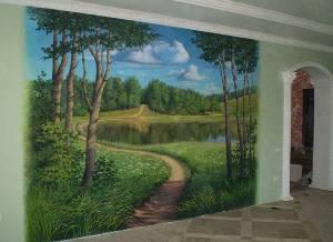 Декоративний розпис стін