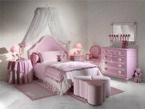 Дизайн спальні для дівчини