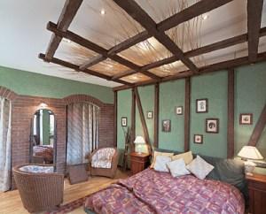 Дизайн стелі спальні
